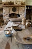 rustikale Küche