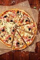 leckere Pizza foto