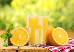 Orangensaft, Saft, Orange foto