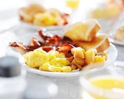 komplettes Frühstück