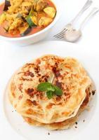 Roti Paratha oder Roti Canai