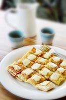 Roti mit Schach foto