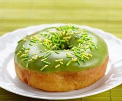 gebackene Donuts foto