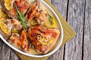 Hühnchen gebacken