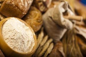 gebackenes traditionelles Brot foto