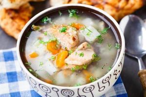 Fischsuppe foto