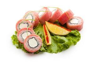 Thunfisch Philadelphia Roll