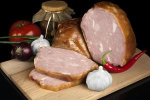 Fleisch - Lager Bild