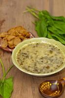 Sauerampfer Suppe foto