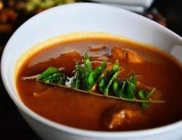 indisches Hauptgericht foto