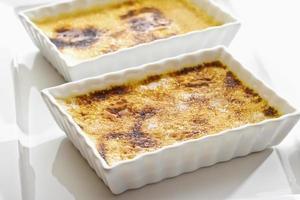 Crème Brûlée in Schalen