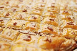 östliches Dessert Baklava foto