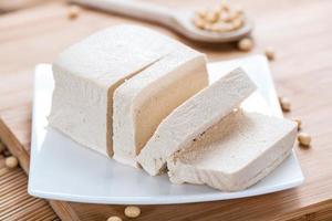Ein Tofublock