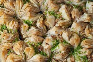 Ost Süßigkeiten Baklava foto
