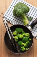 Brokkoli kochen foto