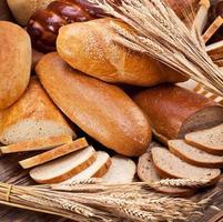 Brot und Weizen. foto