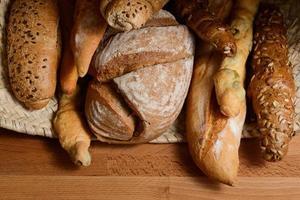 Brot verschiedener Sorten 9 foto