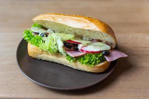 frisches Sandwich
