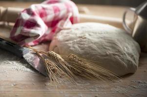 Teig für Brot foto