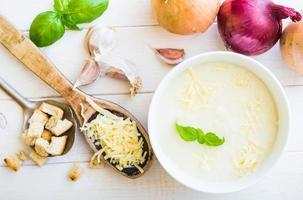 Zwiebelsuppe foto