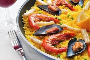 spanische Paella foto