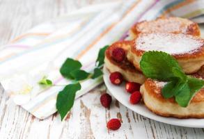 Erdbeerpfannkuchen foto