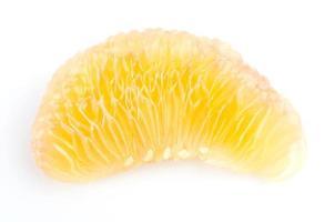 Grapefruit lokalisiert auf weißem Hintergrund foto