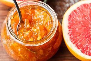 Zitrusfruchtmarmelade foto