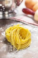 frische Pasta foto