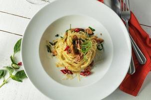 Pasta Linguine foto