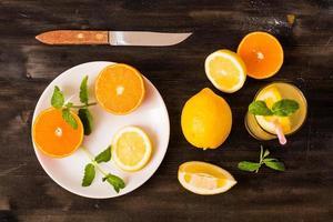 Zitrusfrucht foto