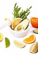frische reife Avocado foto