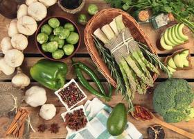 grünes Gemüse foto