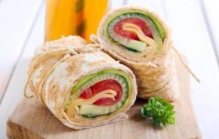 Tortilla Wrap foto