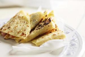 leckere hausgemachte Tortillas foto