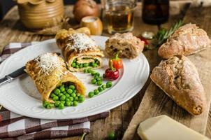 Vollprotein-Frühstück foto