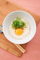 japanische küche, sanuki udon foto