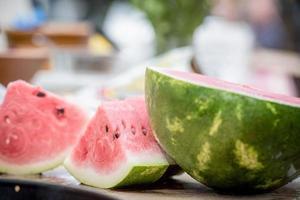 frische Wassermelone foto
