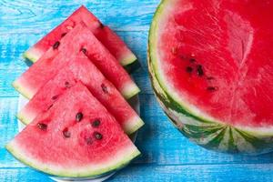 Stücke Wassermelone
