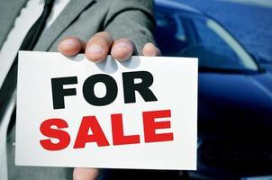Auto zu verkaufen foto