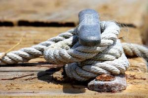 Fall mit Seil