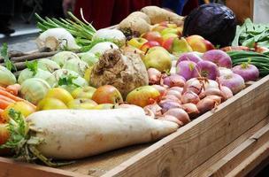 Früchte und Gemüse foto