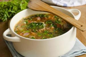 italienische Suppe foto