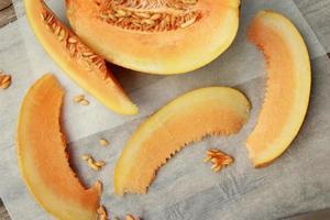 Cantaloup-Melone foto