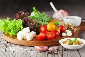 frischer Sommersalat