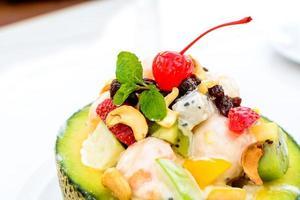 frischer Fruchtsalat foto