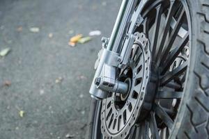 Motorrad Detail foto