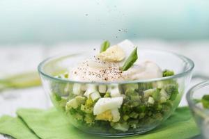 Salat mit Pfeffer foto