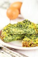 Spinat Omelett foto