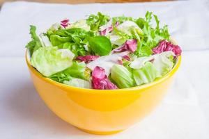 Salatmischsalat. foto